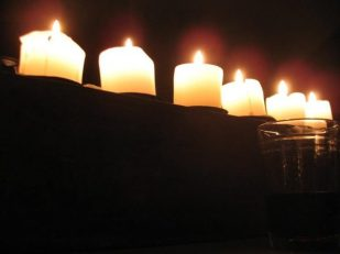 candles - by Thandiwe Dale-Ferguson